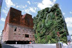 Madrid's living wall #garden #design #architecture