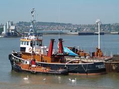 https://flic.kr/p/c6L7y9 | Tug boats moored near Sun Pier Chatham [shared]