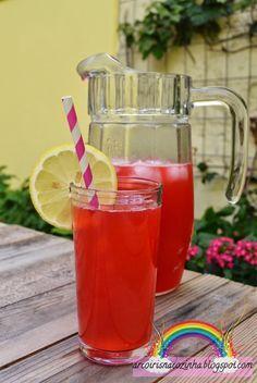 Arco-íris na Cozinha: Limonada Cor-de-Rosa (Pink Lemonade)