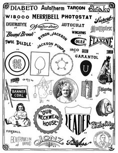 From The Trade Mark News    Published 1910-13.