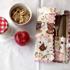 Ready for a New week? Everything ready for your lunch tomorrow? Check this cutlery case Inst etsyshop!