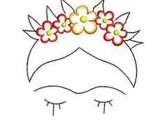 Resultado de imagen para frida kahlo para bordar
