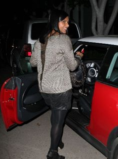 "Mindy Kaling, better known as Kelly Kapoor on NBC's ""The Office,"" was spotted hoping into a red MINI Cooper. #minicooper #mindy #mindykaling #kellykapoor"