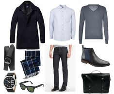 Men's Date Night Outfit on featured on #StyleNinetoFive #dapperman #datenight