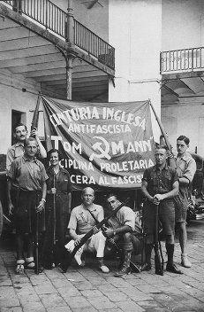 Spain - 1937. - GC - 15th International Brigade - English antifascist group
