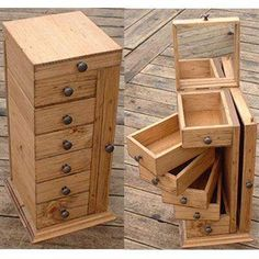 Woodworking That Sell Wood Crafts .Woodworking That Sell Wood Crafts Into The Woods, Diy Rangement, Diy Holz, Craft Storage, Craft Organization, Storage Ideas, Storage Design, Wood Boxes, Wood Furniture