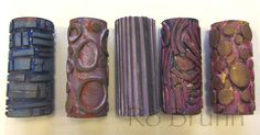 Make your own roller stencils with toilet paper rolls! Ro Bruhn Art: Roller stamps Her site looks like a good resource too. Stencils, Clay Stamps, Stamp Carving, Arts And Crafts, Paper Crafts, Gelli Printing, Screen Printing, Art Classroom, Elementary Art