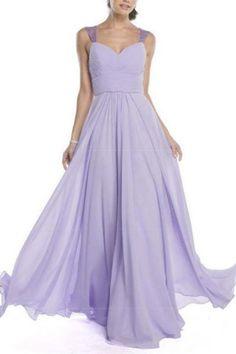 Elegant Lilac High-Waist Evening Dress | Dress Boutique.