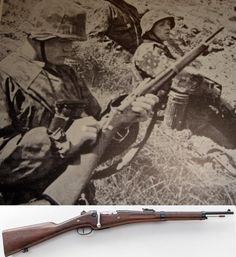 Mannlicher Berthier Carbine --- Mannlicher-Berthier French Bolt Action Carbine.