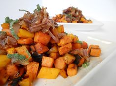 Sage & Mango Sweet Potato Hash
