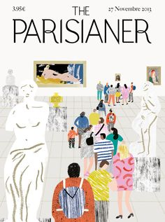 Charlotte Trounce - magazine cover illustration