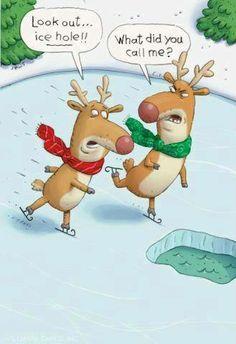 Funny reindeer, funny cartoons, cartoon jokes... For the best humor and jokes visit www.bestfunnyjokes4u.com