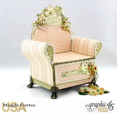 Another version of my St. Nicholas Chair Mini Album..