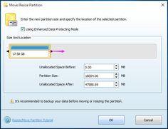 resize partition windows 10