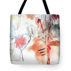 Watercolor Tote Bag featuring the painting Summer Fantasy 1 by Janis Kirstein