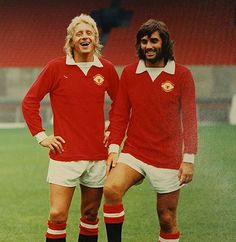 Denis Law and George Best  - Book Local Traders --> https://SnipTask.com