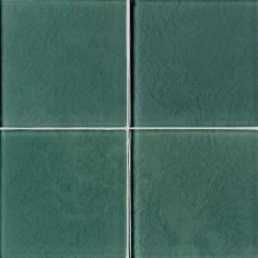 Mint Leaf - Molten Glass by daltile