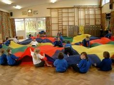 Parachute Games-This has very good instructions available to download! Great resource!