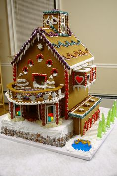 """""""Gingerbread Mansion"""" by Carmen M. (Standout Execution)"""