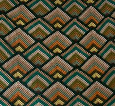 Pattern and texture.  Love the colors and the shapes in this pattern!