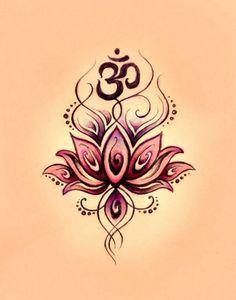 hippie design psychedelic peaceful colorful meditation yoga pilates tattoo design Lotus Flower om Namaste psychedelics at peace lotus flower tattoo om tattoo on symbol Tattoos Motive, Yoga Tattoos, New Tattoos, Body Art Tattoos, Tribal Tattoos, Tatoos, Paisley Tattoos, Turtle Tattoos, Friend Tattoos