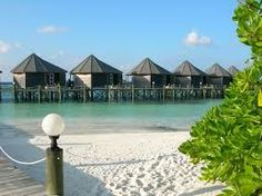 kuredu water villa - Google Search