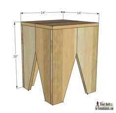 Image result for small wood stool