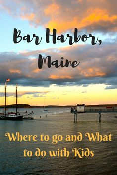 Bar Harbor, Maine is one of the most popular places in New England to take a family vacation.  With the sea, mountains and town life, there is an abundance of things to do. See my complete family travel guide.
