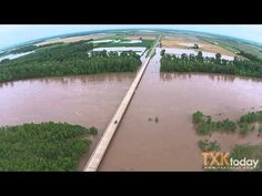 Red River Pecan Point Flooding 5/24 - YouTube