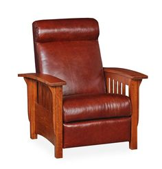 Select Options For Amish American Mission Style Recliner (ID: Amish Furniture, Cool Furniture, Furniture Ideas, Morris Chair, Mission Style Furniture, Leggett And Platt, Quarter Sawn White Oak, White Oak Wood, Arts And Crafts Furniture