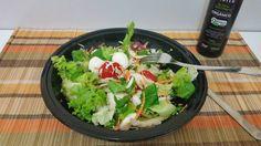 Almoço  #reeducaçãoalimentar #eathealthy #eatclean #fitfood #foodhealthy #health  #lowcarb #salada  #vidasaudavel #qualidadedevida #gym #running #corrida #30tododia #sugarfree #saude #lifestyle by najaneladealice