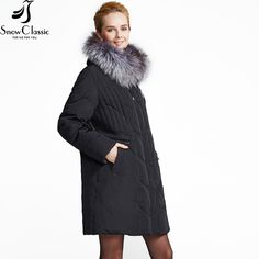 Cheap jacket down, Buy Quality jacket winter directly from China jacket jacket Suppliers: women down coat jacket winter SnowClassic 2016 Plus Size Female parka Real Fox Fur Collar down coat white duck jacket 12079 Duck Down Jacket, White Ducks, Womens Parka, Winter Jackets Women, Down Coat, Fur Collars, Fox Fur, Fur Coat, Plus Size