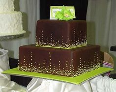 Chocolate & Lime by Wild Cakes, via Flickr
