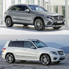 Mercedes GLC vs Mercedes GLK #Mercedes #GLC
