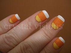 candycorn nails for October, can you make it happen @Debbie Arruda Bower?
