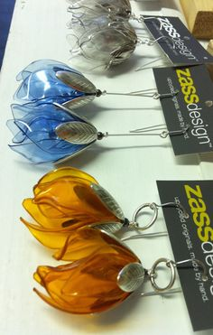 Flower buds earrings by zassdesign on Etsy, $25.00