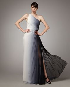 this could be an amazing wedding gown - if you dare to go only partially white with your dress