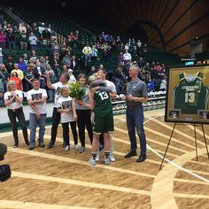 #ColoradoState Women's basketball seniors Congratulations! #CSU #framedjersey #jerseyframing