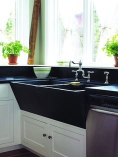 love the old farm kitchen sinks - this one is from Salvage Secrets by Joanne Palmisano