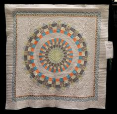 Debbie Adami was my contact with the West Houston Quilt Guild and she was an absolute angel.  She made Star for Benjamin David and had it quilted by Brandy Rayburn.  The pattern is The Sentimentalities Quilt by Bonnie Christine Design.
