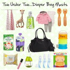 Ever wonder what goes in a diaper bag for 2 under 2? Lucky for us @Natasha Stoneking from Hello! Happiness is giving us a peek insider her bag!