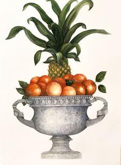 Carolyne Roehm...her botanical painting