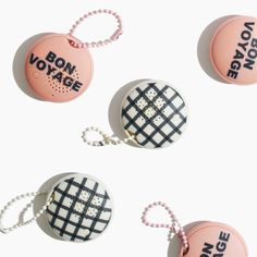 Check out this palm-size wireless speaker that attaches keychain-style to a bag or belt. With up to a 30-foot range, it will blast your tunes for as long as three hours — and is printed with adorable patterns  #giftwell