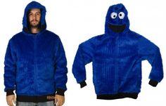 Cookie Monster Costume Hoodies
