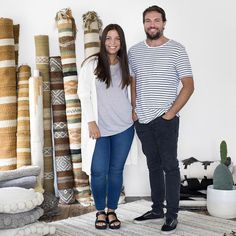 www.littlerugshop.com Carl Wilson and Victoria Aguirre are the couple behind @wearepampa a Brisbane business selling handwoven rugs and soft furnishings by South American ethnic communities. Their range is inspired by Victorias upbringing in Argentina and the couples passion for travel.  by @mindicooke with story by @jojohoban  link in profile by thedesignfiles