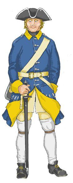 Elbing Garrison, Private 1712