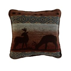 Cabin Deer Meadow Bed Pillow
