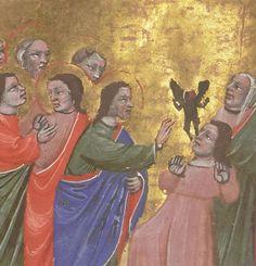 <p>Horae et missale ad usum Fratrum Minorum. Source: gallica.bnf.fr Bibliothèque nationale de France, Département des manuscrits, Latin 1352, fol. 89v.</p>