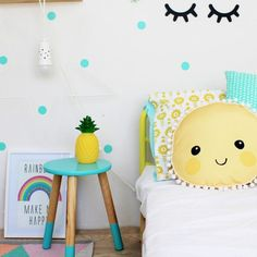 Chic Kids Bedroom Wall Decorations Ideas That Will Make Fun Your Kids Room - The interior decorating and decor of a bedroom largely depends upon it's function. There are mainly 4 types of bedrooms in a typical home plan. Bedroom For Girls Kids, Little Girl Rooms, Kids Rooms, Kid Bedrooms, Childs Bedroom, Boy Rooms, Nursery Decor, Bedroom Decor, Bedroom Wall