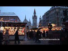 Weihnachtsmarkt, München - Germany HD Travel Channel
